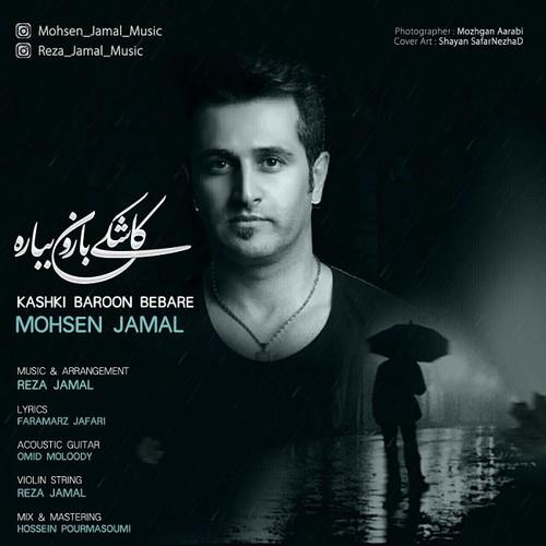 آهنگ جدید کاشکی بارون بباره از محسن جمال